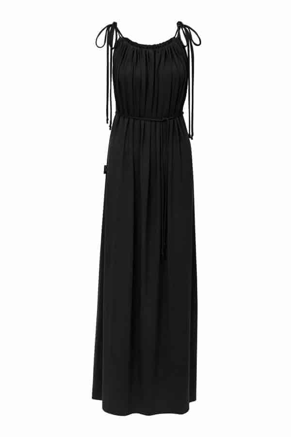 Dlouhé šaty- černé