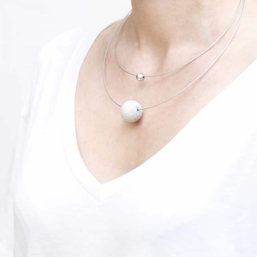 Betonový náhrdelník BET-N103