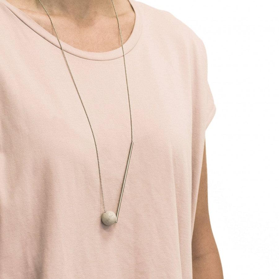 Betonový náhrdelník BET-N135