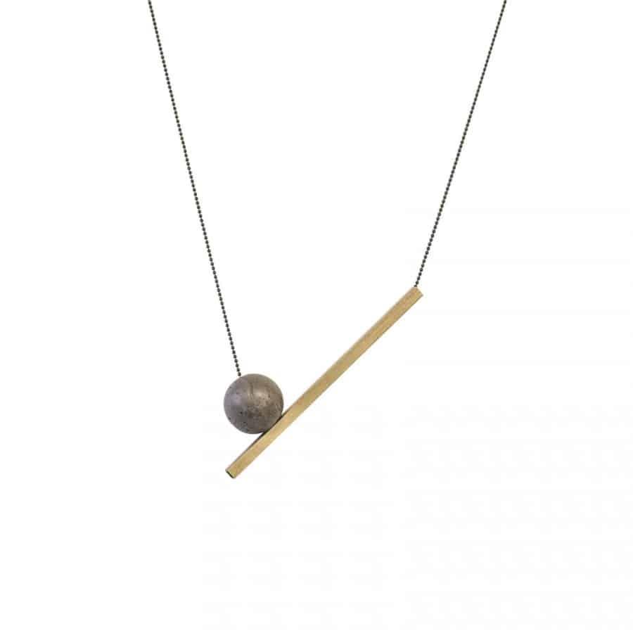Betonový náhrdelník BET-N145