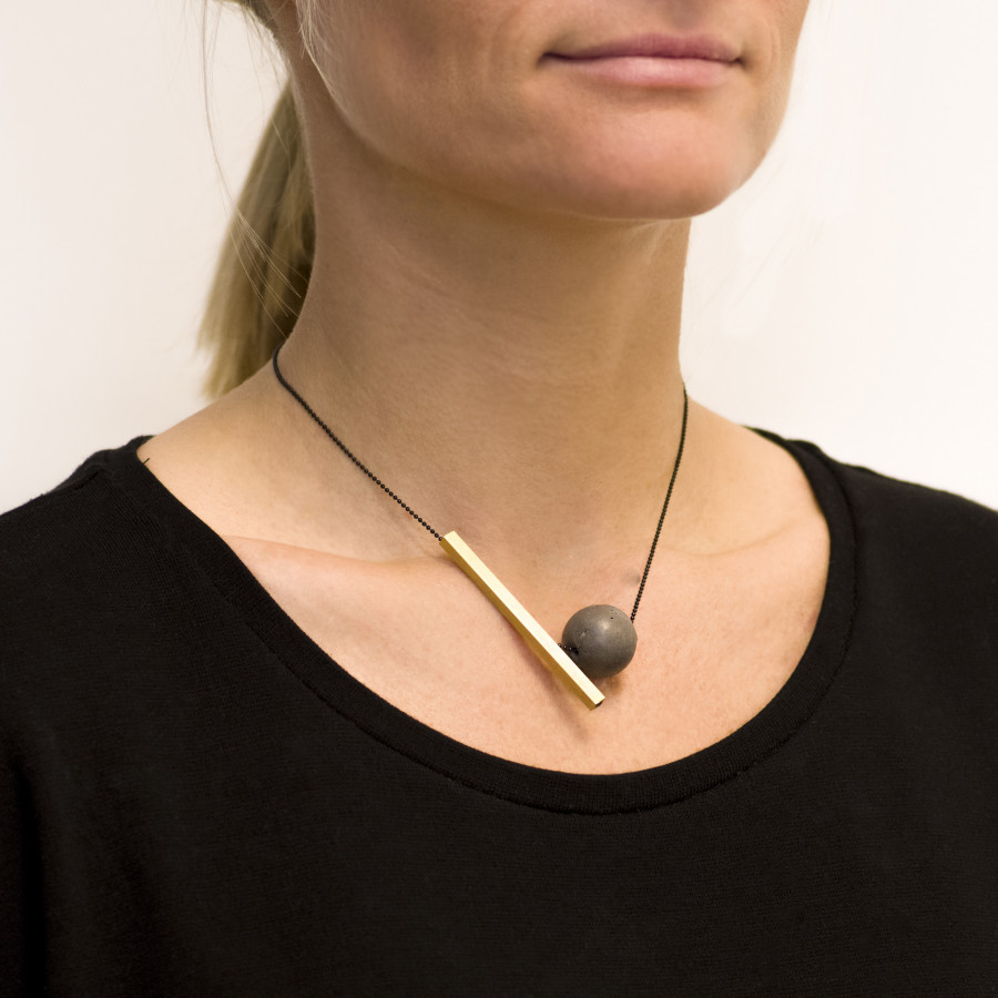 Betonový náhrdelník BET-N146