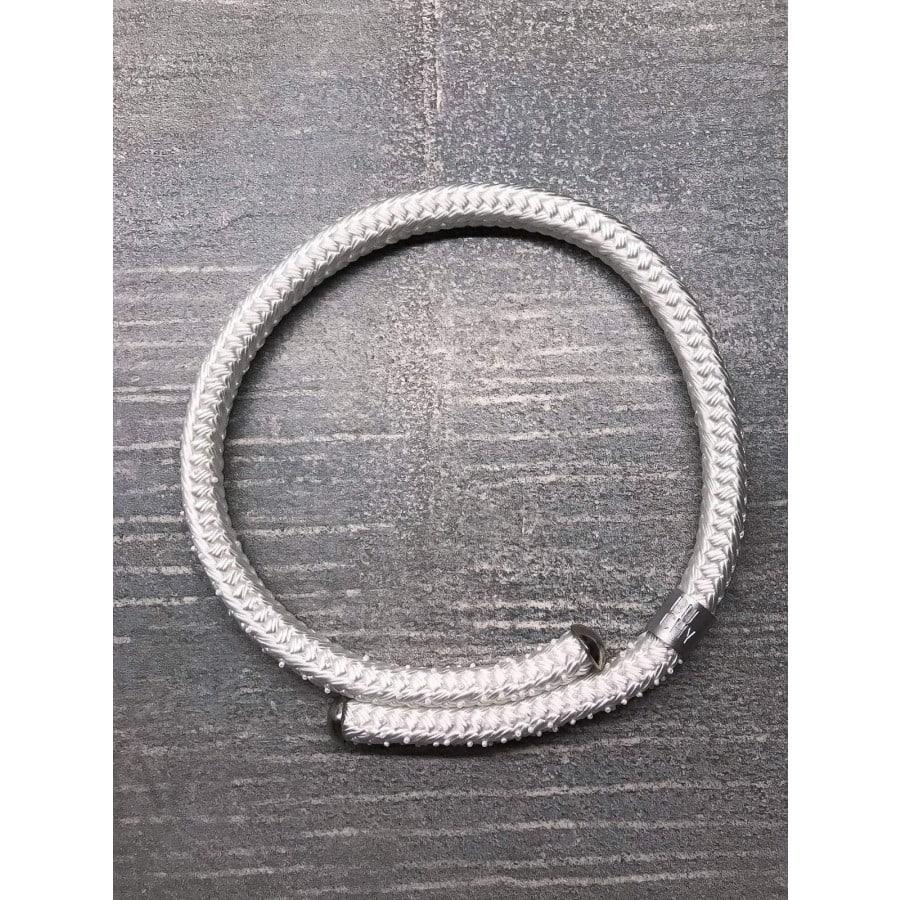 bílý svatební náhrdelník buchy