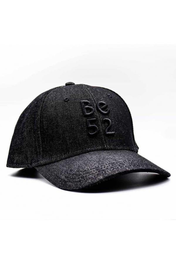 JEANS CAP BLACK kšiltovka