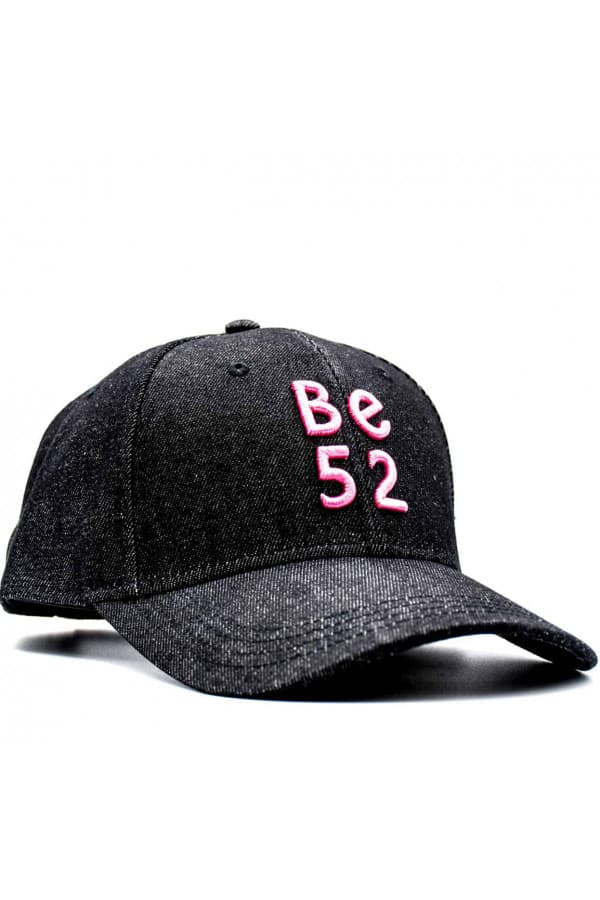 JEANS CAP BLACK/PINK