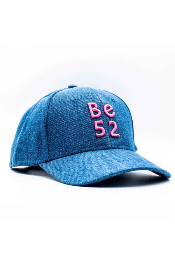 JEANS CAP BLUE/PINK kšiltovka