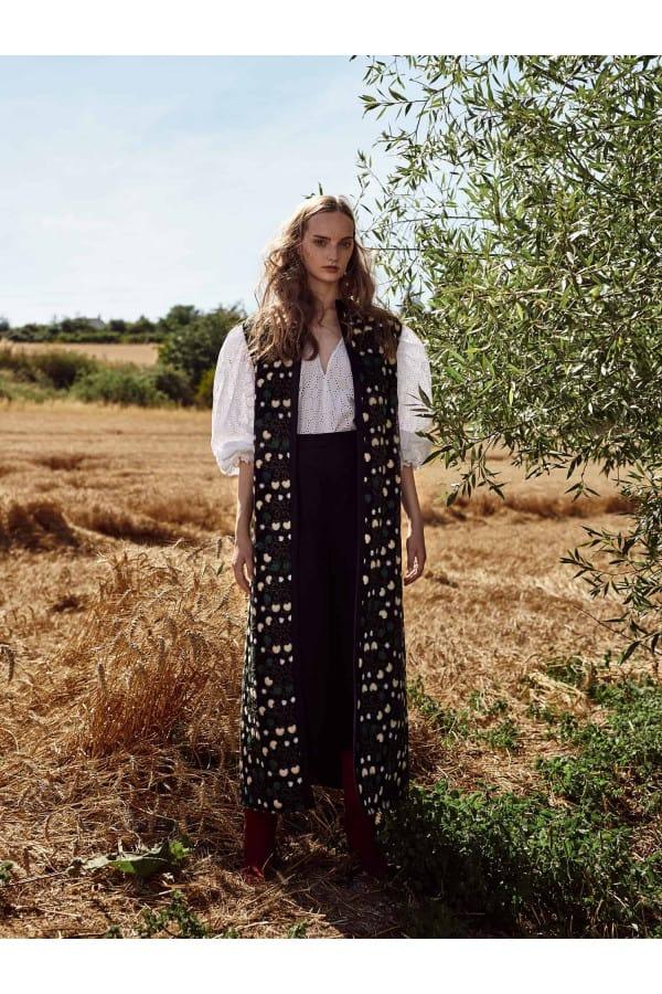 Lněné kalhoty Benedicta