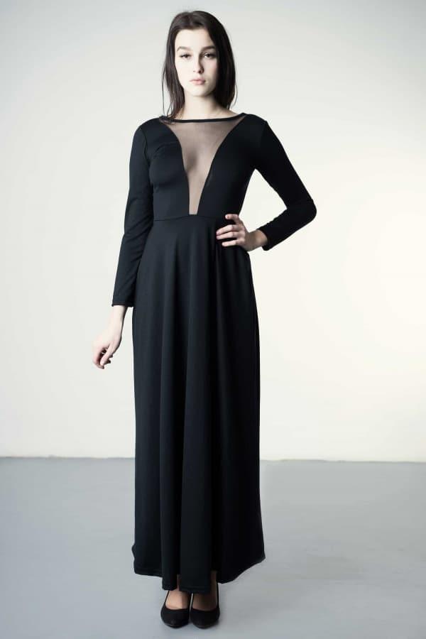 Dafné - merino dress