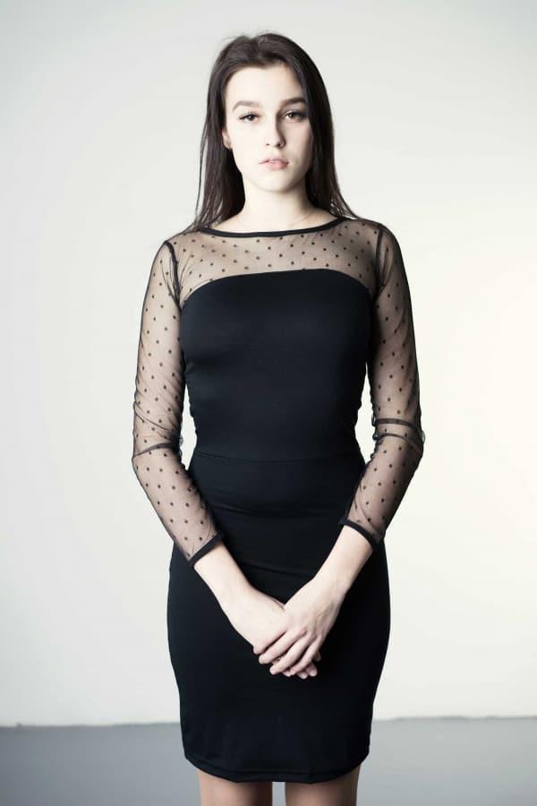 Léda - merino dress