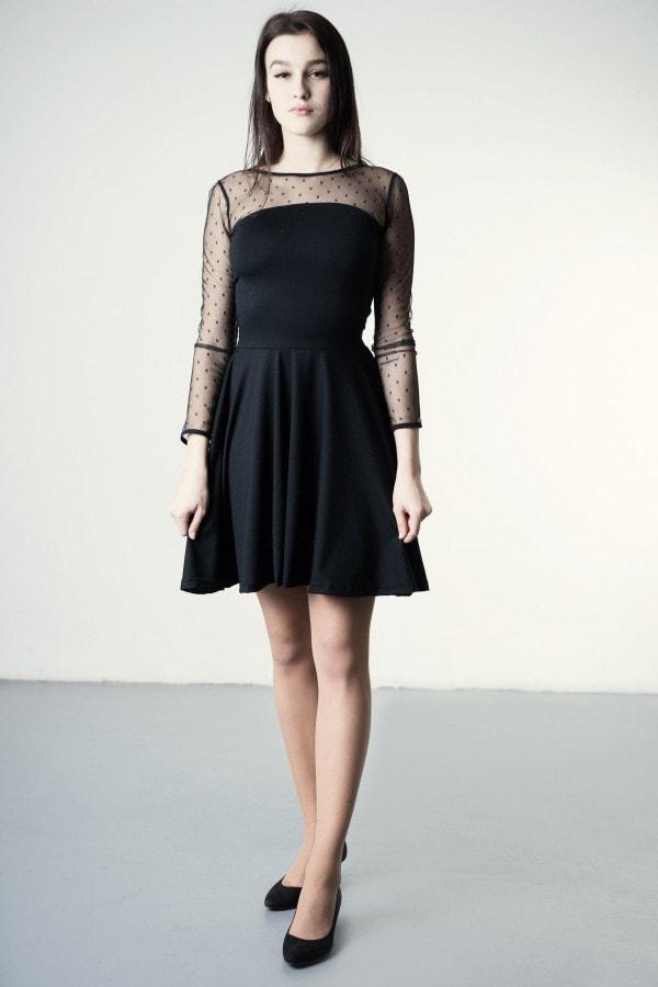 Nyx - merino dress