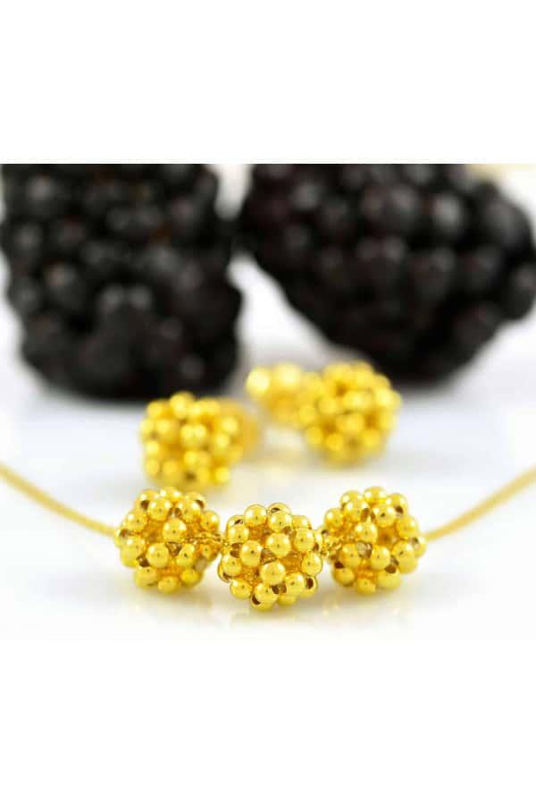 Náhrdelník Yellow Gold Berries Minimal small