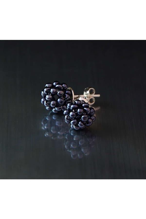 Náušnice Blackberries Minimal big
