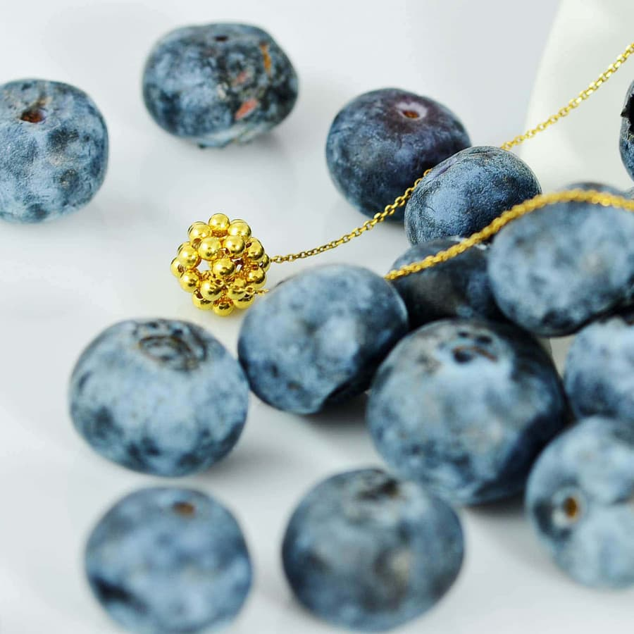 náhrdelník Gold Berry Minimal