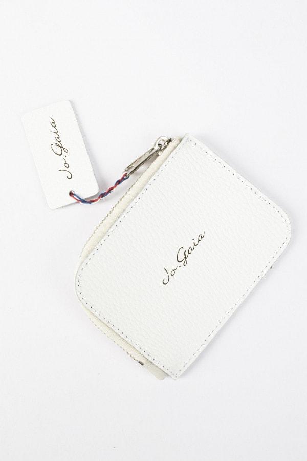 Bílá kožená peněženka