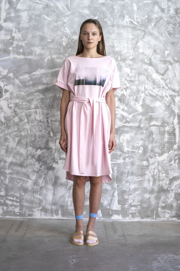 Šaty ŠUMAVA SS20/3 růžové