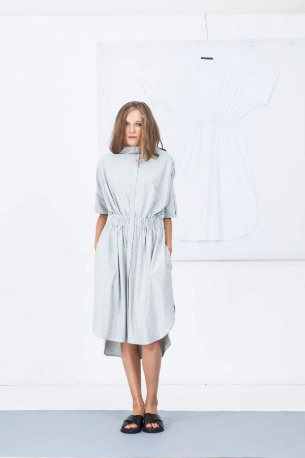 Šaty se stojáčkem 05