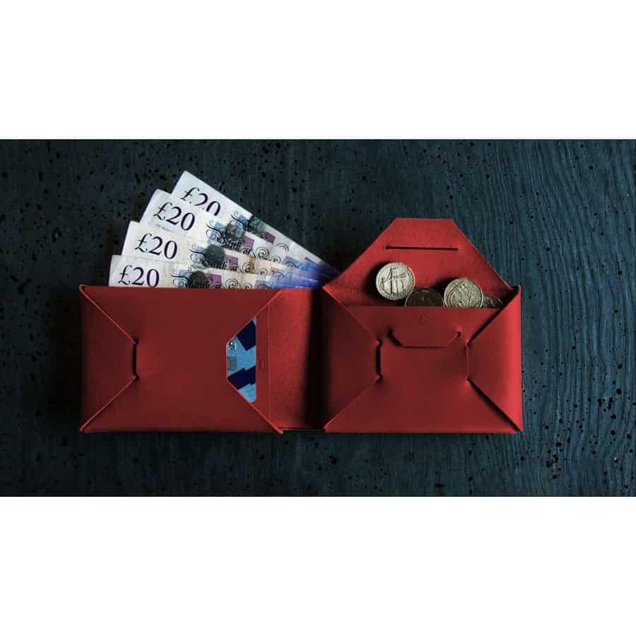 Peněženka XY Origami Wine