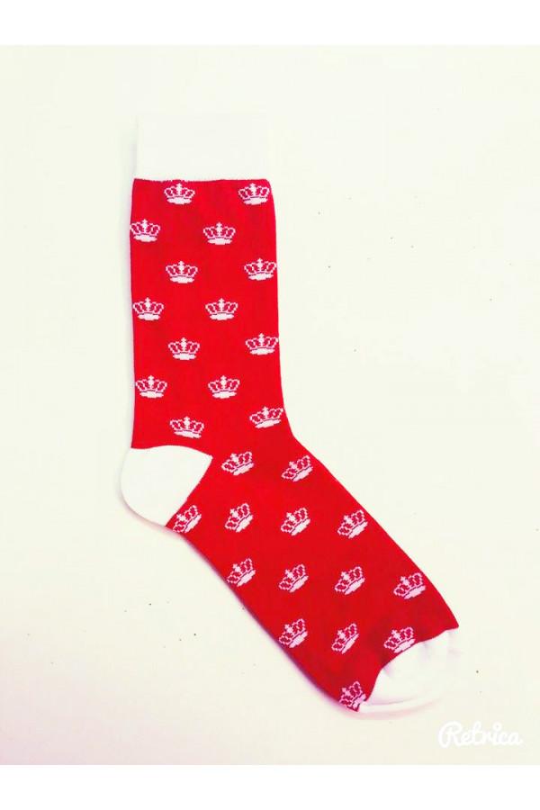 Ponožky Loram červené