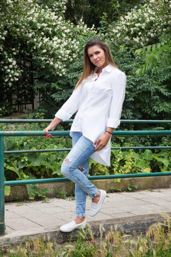 košile bílá