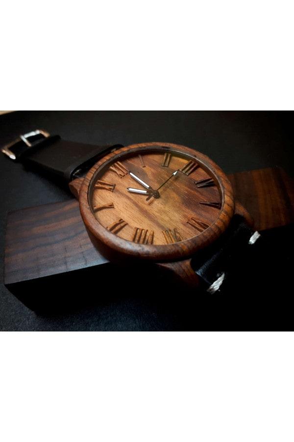 Dřevěné hodinky 3D - Time TOP