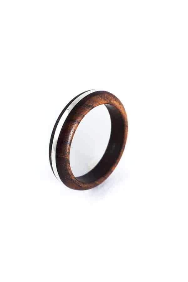 Dřevěný prstýnek Ali