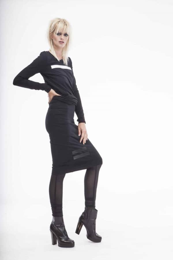 FNDLK sukně 01sk po kolena