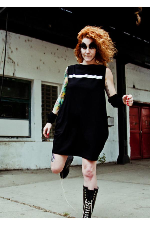 FNDLK úpletové šaty 107 BL