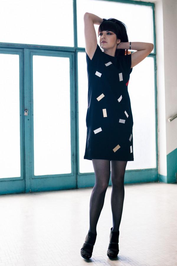 FNDLK úpletové šaty 193 RL