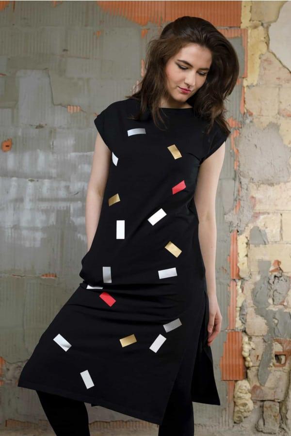 FNDLK úpletové šaty 194 RLdr
