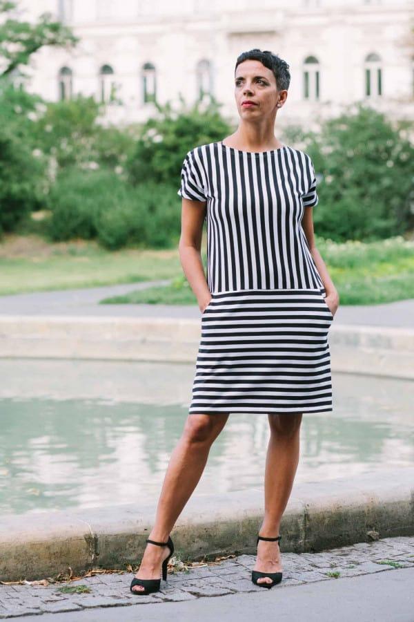 FNDLK úpletové šaty 204 RsL