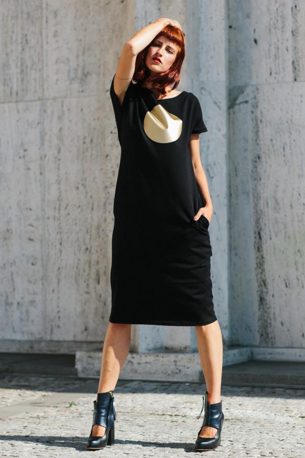 FNDLK úpletové šaty 297 RKkL midi