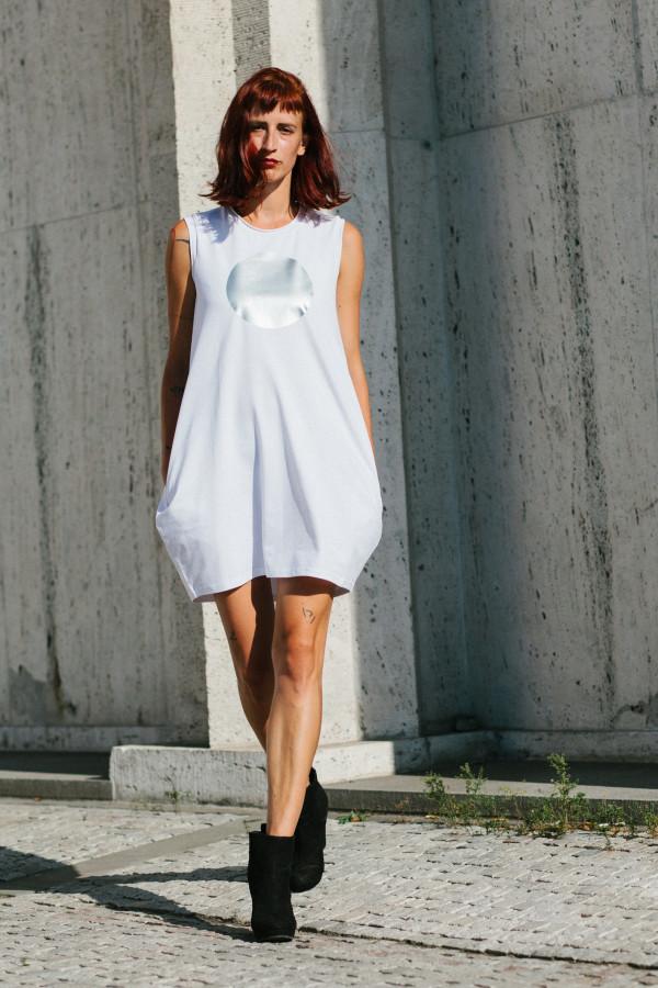 FNDLK úpletové šaty 303 BK