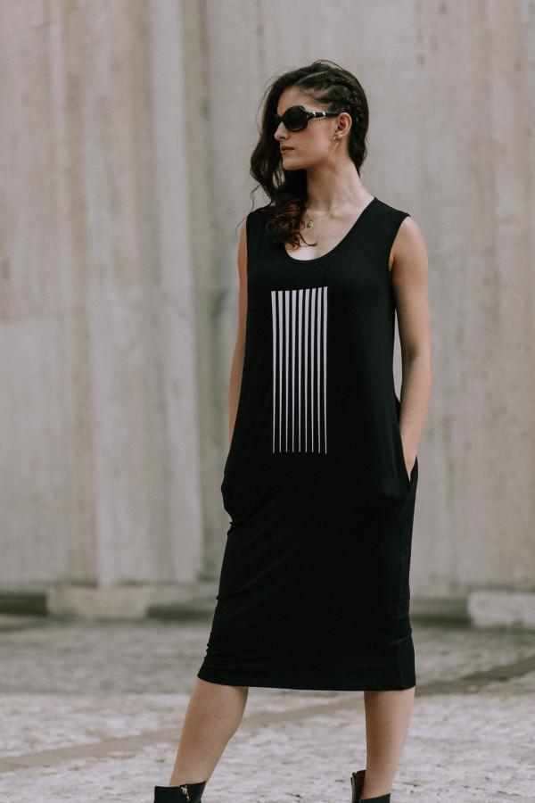 FNDLK úpletové šaty 403 RH midi