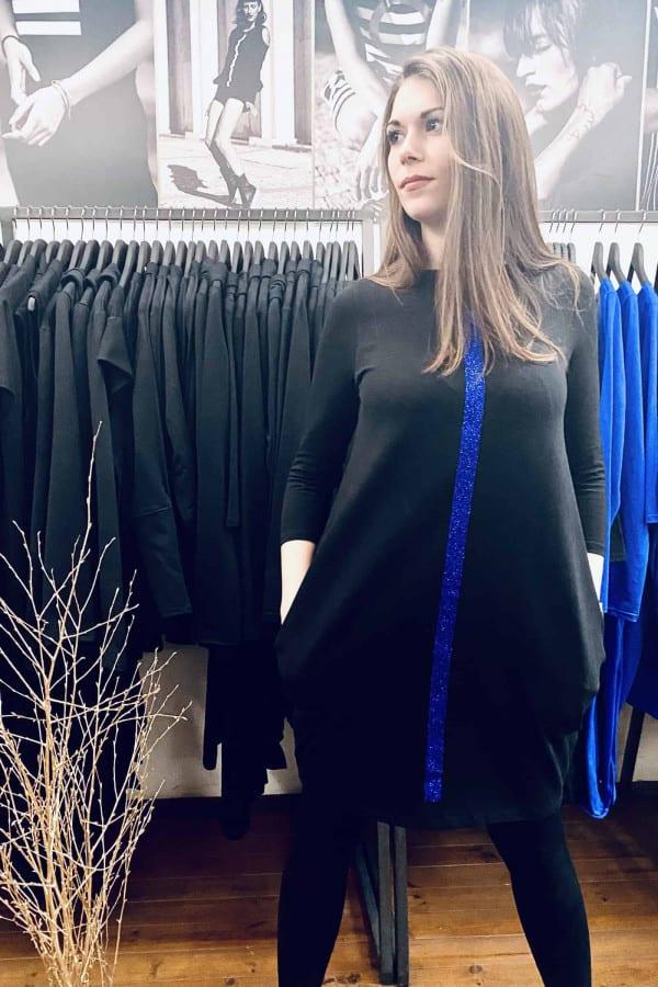 FNDLK úpletové šaty 488 BVqL_glitter