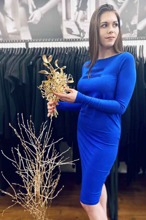 FNDLK úpletové šaty 489 RuVdL _glitter