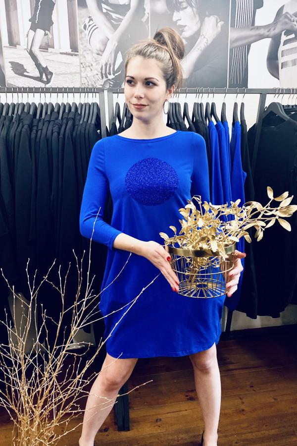 FNDLK úpletové šaty 491 BVqL_glitter
