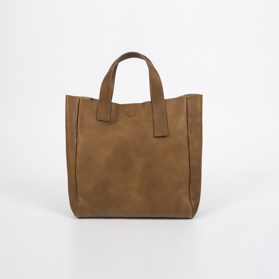 LEATHER TOTE BAG GINGER