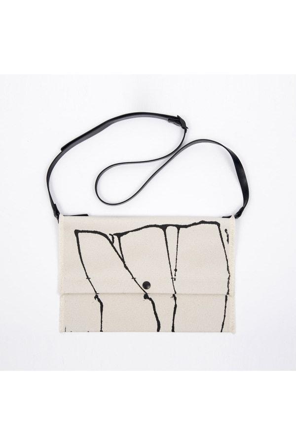 Painted fold bag