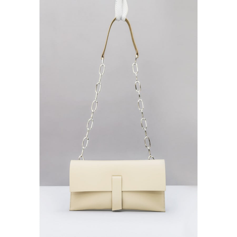 CHAIN BAG/IVORY