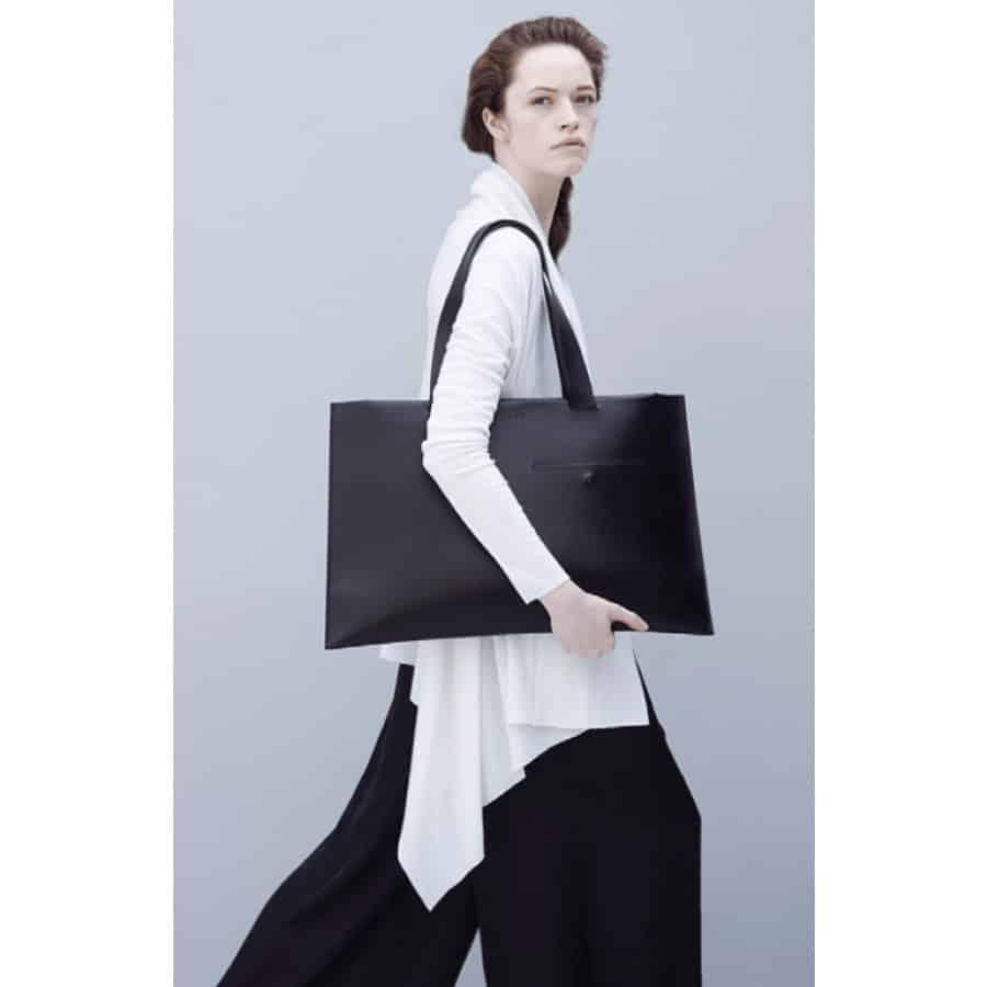 Leather bag/Noir