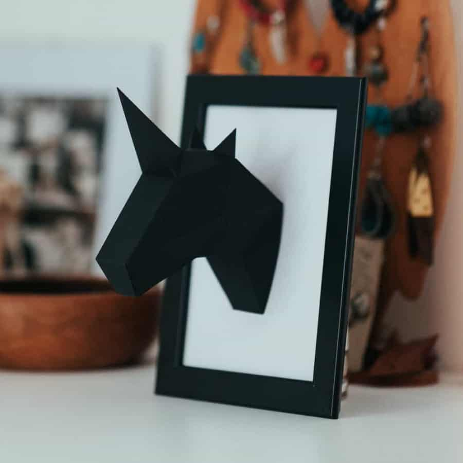Jednorožec Mini – černý