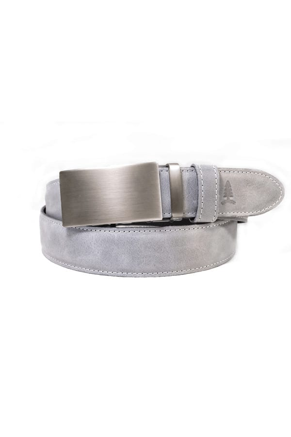 Opasek Challenger se sponou brushed silver