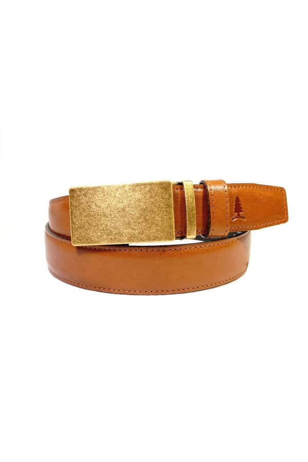 Opasek Champ se sponou antique brass