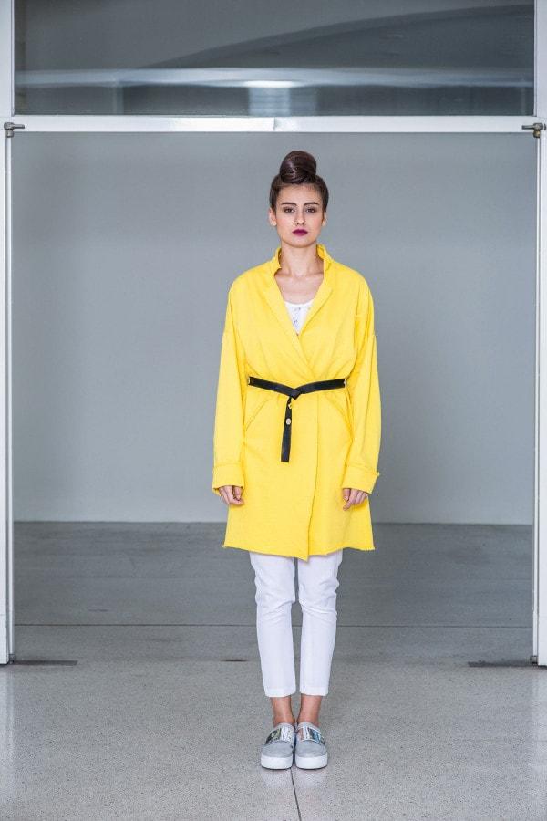 bavlněný oversize kabát