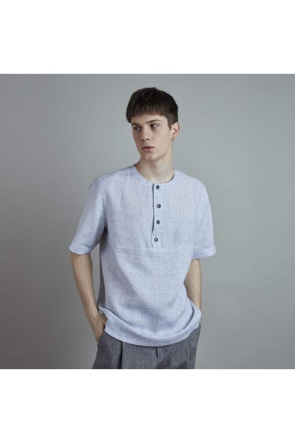 košile LEN FIN