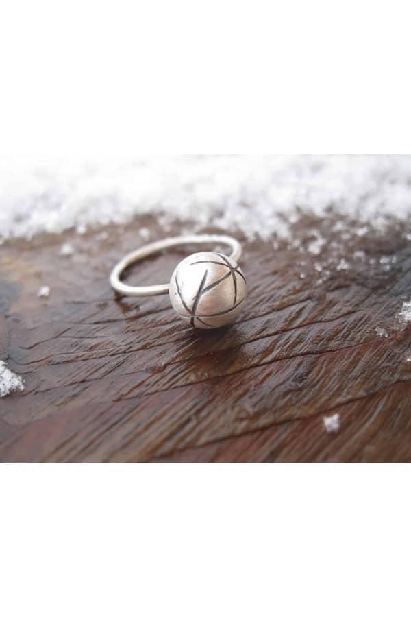 Prsten s kuličkou Universe