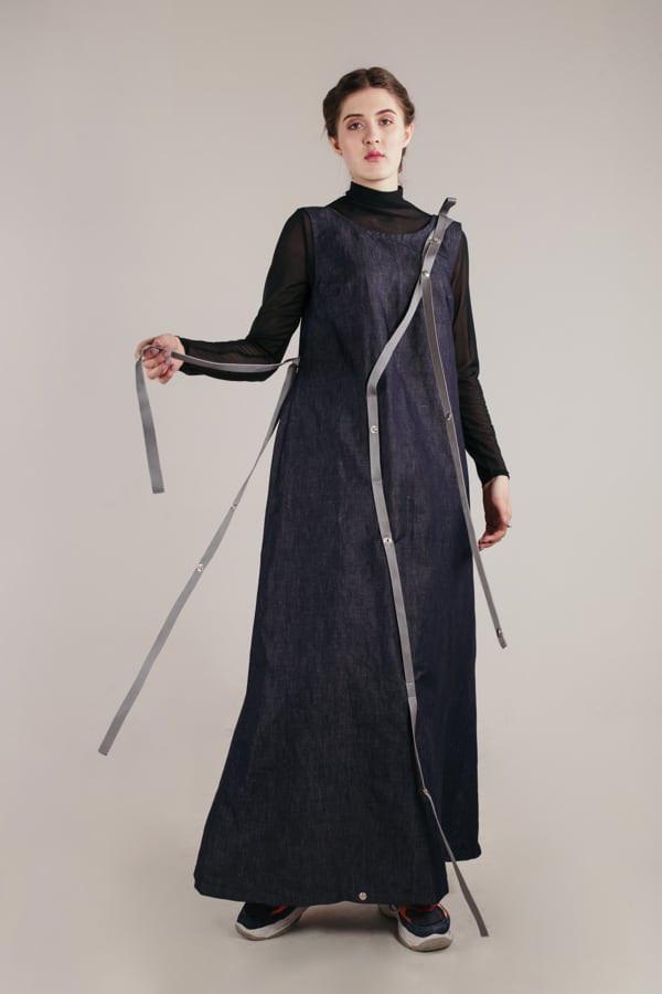 šaty tereza s popruhy