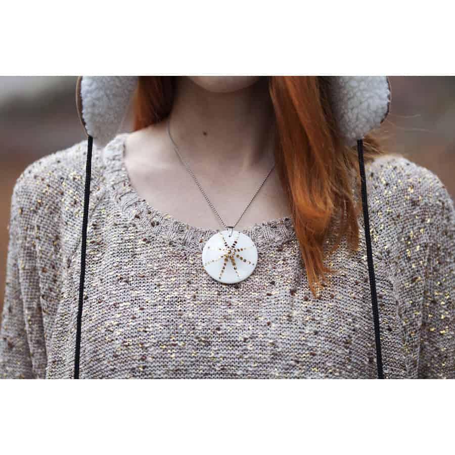 Sluneční čas (náhrdelník se zlatem)