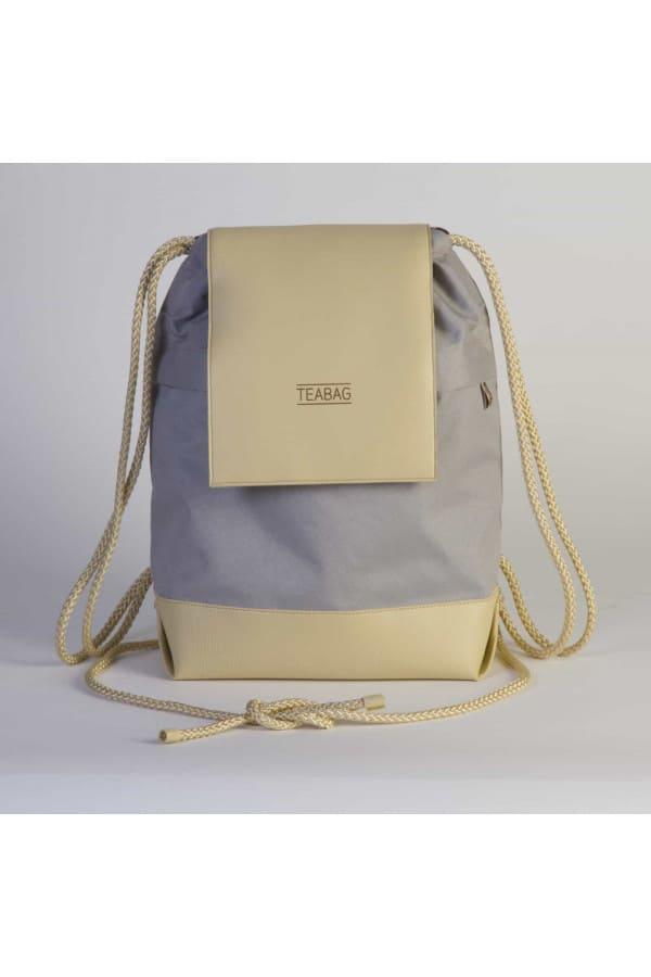 TEABAG batůžek – šedo-béžový