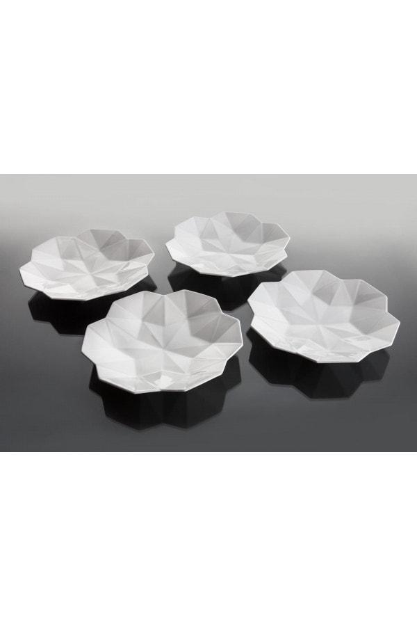 Set 4 hlubokých talířů