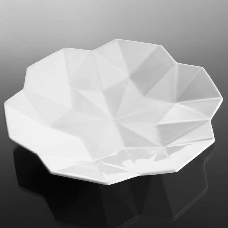 geometrický hluboký talíř
